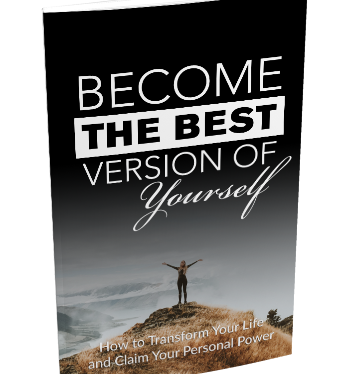 E-Book: Become The Best Version of Yourself